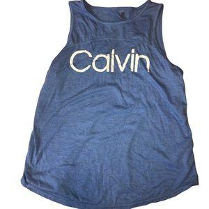 💋 Small Calvin Klein performance blue tank top